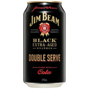 Black Label Double serve and cola cans 375ml - Strathmore cellars