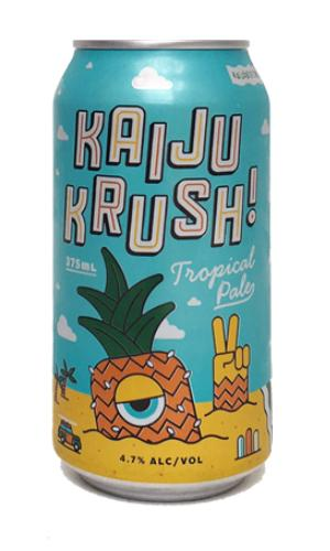 KAIJU! Tropical Pale ALE cans 375mL - Strathmorecellars