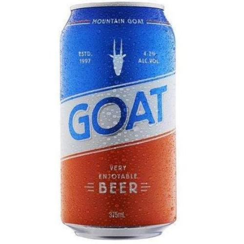 Mountain Goat Very Enjoyable beer cans 375mL - Strathmore cellars
