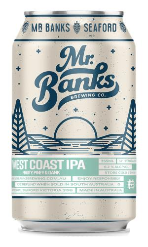 West Coast IPA Cans 355mL - Strathmorecellars