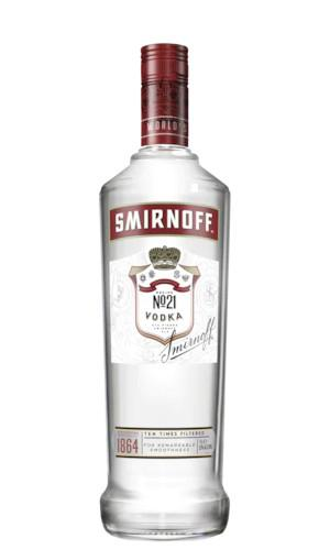 Smirnoff Red Label Vodka 1L - Strathmorecellars
