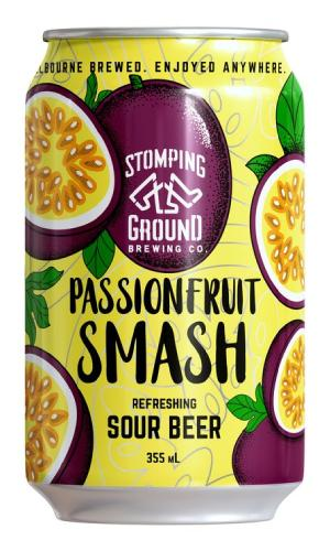 Passionfruit Smash Sour Beer - Strathmore cellars