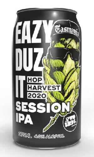 Eazy Duz it session IPA Cans 375ml - Strathmorecellars