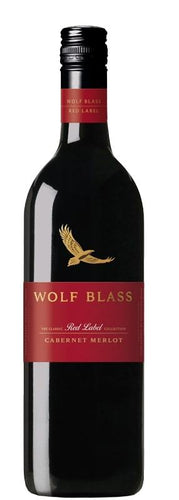 Wolf Blass Red label Cabernet Merlot 2018 - Strathmore cellars