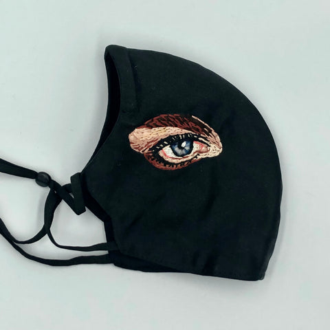 Hand embroidered Eye