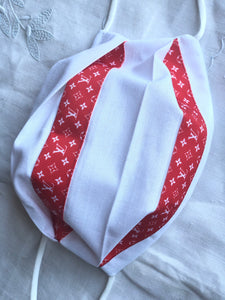 White linen/designer ribbon 1