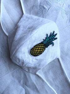 UNIVERSAL COMPACT Cotton organdy/pineapple