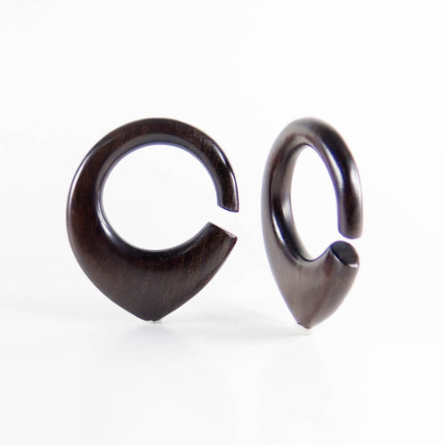Dark Raintree Hoop Ear Weights