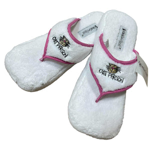 'Cat Person' Slippers