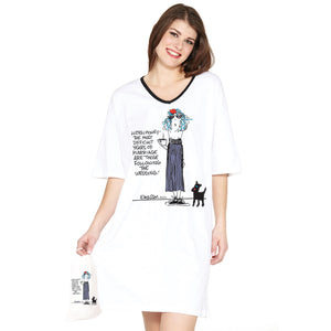 """The Most Difficult Years of Marriage are those Following the wedding""  Nightshirt in a Bag"