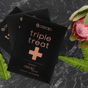 asap Triple Treat Plus Beauty Blender - Limited Edition