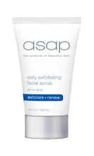 Load image into Gallery viewer, asap daily exfoliating facial scrub
