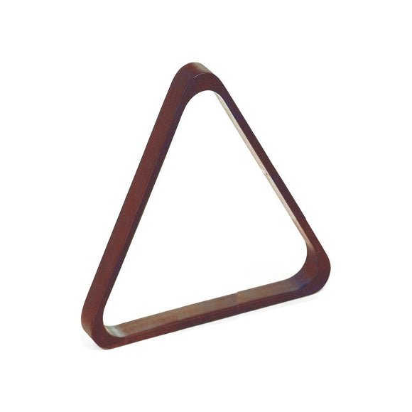 Imperial 2 1/4-In. Wood Triangle, Antique Walnut
