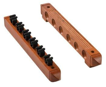 Fat Cat Oak 6 Cue 2-Piece Wall Cue Rack