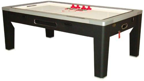 Berner 6-in-1 Multi-Game Table in Black