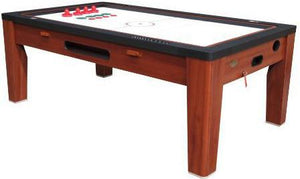 Berner 6-in-1 Multi-Game Table in Cherry