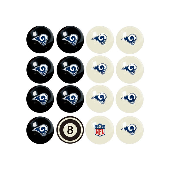Imperial Los Angeles Rams Home vs. Away Billiard Ball Set