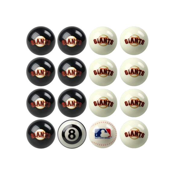 Imperial San Francisco Giants Home vs. Away Billiard Ball Set