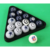 Imperial Dallas Cowboys Billiard Balls With Numbers