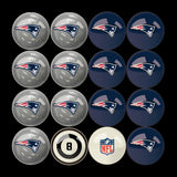 Imperial New England Patriots Billiard Balls With Numbers