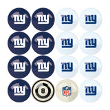 Imperial New York Giants Billiard Balls With Numbers