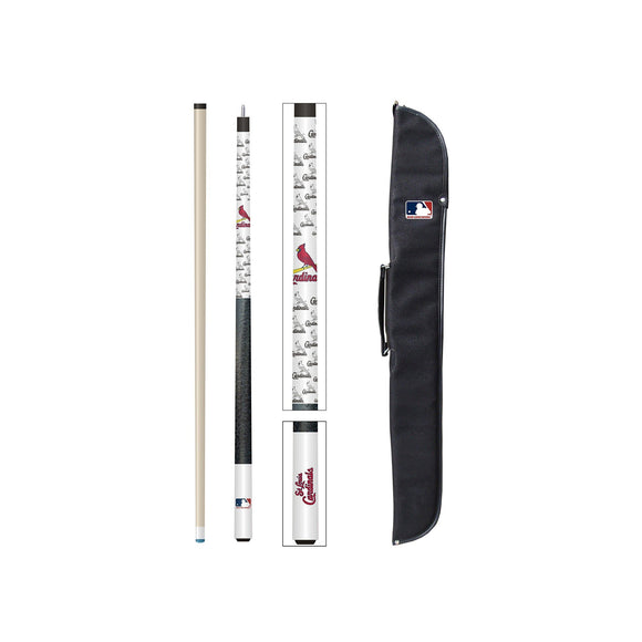 Imperial St. Louis Cardinals Cue and Case Set