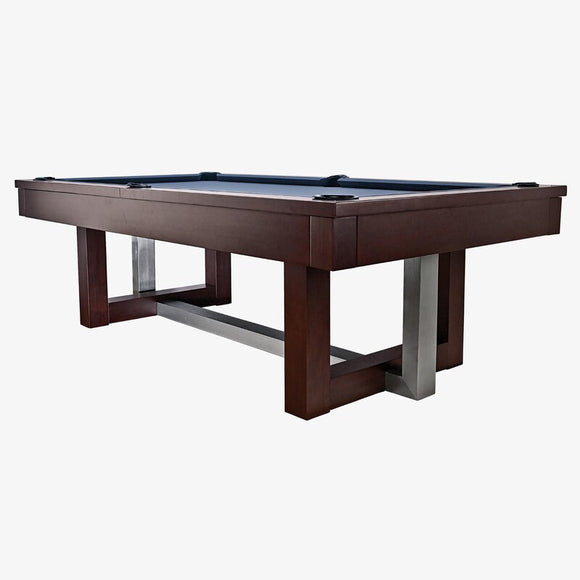 Picture of HJ Scott The Abbey 8' Slate Billiard Table In Espresso