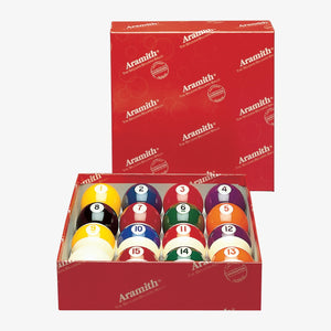 Aramith Continental 2 1/4-in. Ball Set