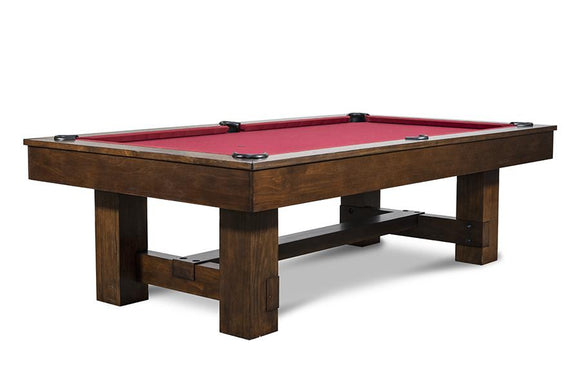 Iron Smyth The Bruiser 8' Slate Pool Table in Sable Finish
