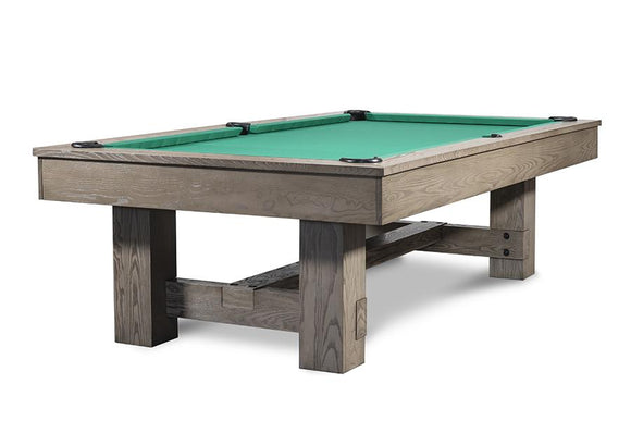 Iron Smyth The Bruiser 8' Slate Pool Table in Sand Finish