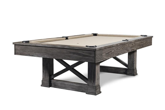 Picture of Iron Smyth The Farmhouse 8' Slate Pool Table in Charcoal Finish
