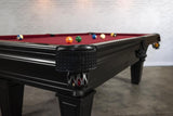 Iron Smyth The Hunchback 8' Slate Pool Table in Black