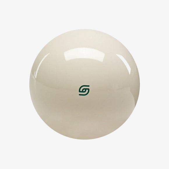 Aramith Magnetic Cue Ball with Green Logo