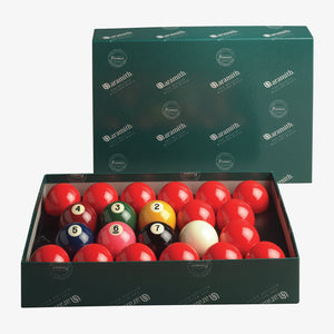 "Aramith Numbered Premier American Style 2 1/8"" Snooker Set"