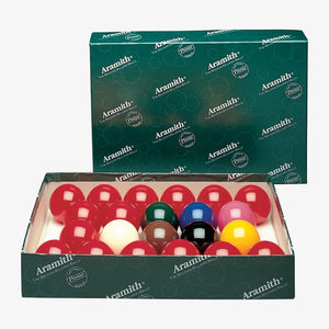 "Aramith Numberless Premier British Style 2-1/4"" Snooker Set"