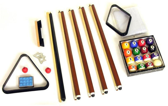 Berner Billiards Deluxe Accessory Kit (ball set included)