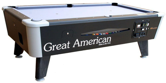 Great American Black Diamond Coin Operated Pool Table