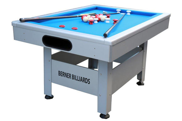 Berner Billiards The Orlando Outdoor Bumper Pool Table (Non-Slate)