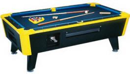 Great American Neon Lites Coin Operated Pool Table