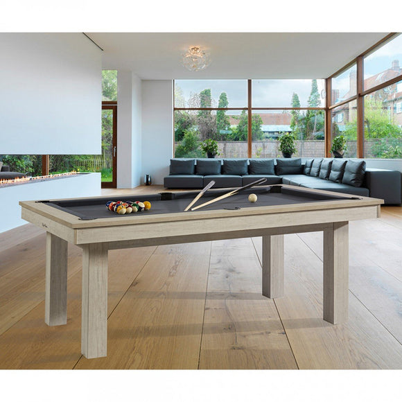 Rene Pierre Billiards Lafite oregon Pool Table with Dining Top