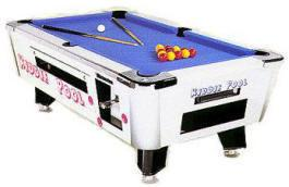 Great American Kiddie Coin Operated Pool Table