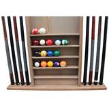 Playcraft Premium Hardwood Billiard Wall Racks