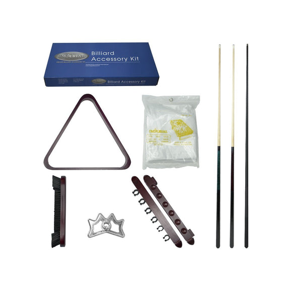 Imperial Silver Accessory Kit, Mahogany