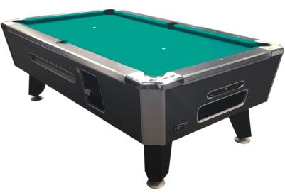 Valley Panther ZD 11 Black Cat Coin Operated Pool Table