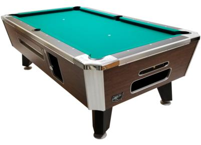 Valley Panther ZD 11 Highland Maple Coin Operated Pool Table