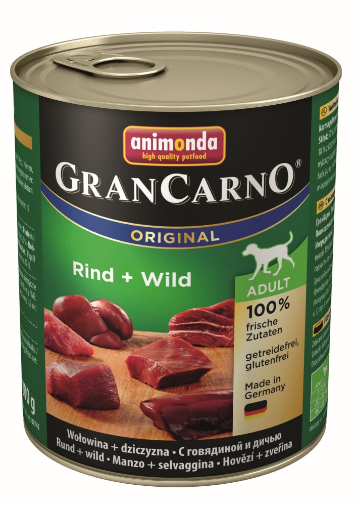 Carno Adult Rind-Wild    800gD