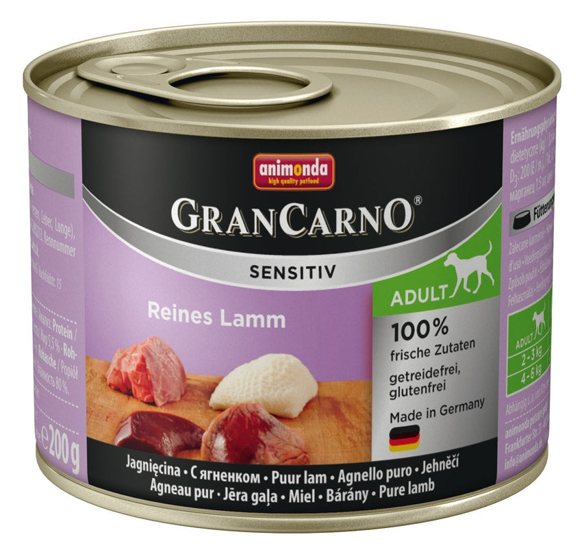 GranCarno Sensitiv Lamm  200gD