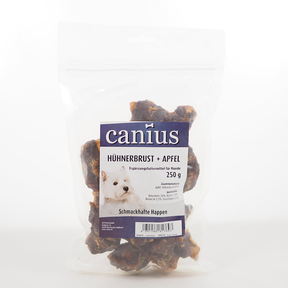 Cani. Hühnerbrust+Apfel   250g