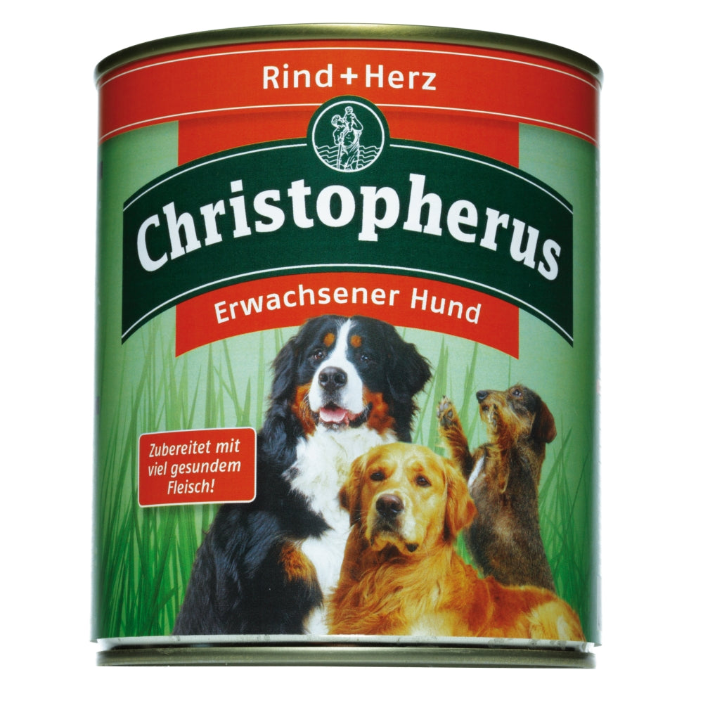 Christopherus Rind-Herz  800gD