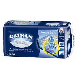 Catsan Smart Pack Streu, 2er